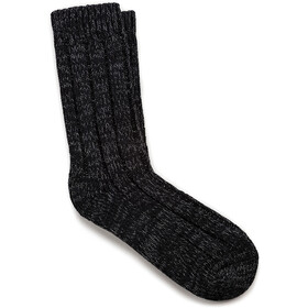 Birkenstock Cotton Twist Socks Dame Black Gray